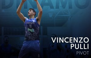 Vincenzo Pulli sarà ancora il pivot della Dinamo Basket Brindisi