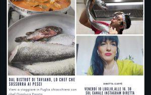 """Live ed interviste a tutta gastronomia per le nuove dirette di """"Vieni a viaggiare in Puglia"""""""