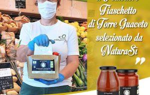 Il Pomodoro Fiaschetto biologico di Torre Guaceto Slow Food selezionato dai supermercati bio NaturaSì