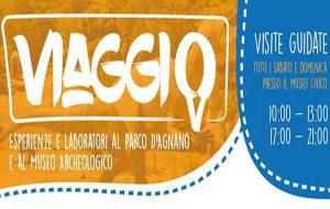 """Torna Viaggio"""" – esperienze e laboratori al Parco di Agnano e al Museo Civico Archeologico"""