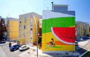 Paradiso Urban Art: Mattia Campo Dall'Orto ha terminato la prima opera prevista al Quartiere Paradiso
