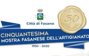 Domenica si inaugura la 50ª edizione della Mostra Fasanese dell'Artigianato