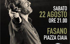 Tutto pronto a Fasano per il concerto di Daniele Silvestri