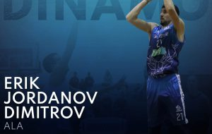 La Dinamo Basket Brindisi conferma il talento bulgaro Erik Dimitrov