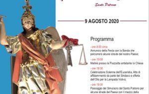Domenica festa patronale a San Michele S.no con Rocco Nigro e l'accensione delle luminarie