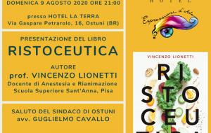 """Domenica 9 si presenta ad Ostuni il libro """"Ristoceutica"""""""