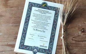 Brindisi e le Antiche Strade: A Brindisi il Testimonium ufficiale della Via Ellenica del Cammino Materano