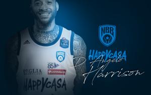D'Angelo Harrison è un nuovo giocatore della Happy Casa Brindisi