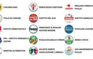 Presentate le liste a sostegno di Emiliano: sono 15 con oltre 700 candidati. Ecco chi votare in provincia di Brindisi