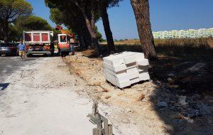 Brindisi: iniziati gli interventi di rifacimento e manutenzione dei marciapiedi