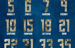 Happy Casa Brindisi: ecco i nuovi numeri di maglia