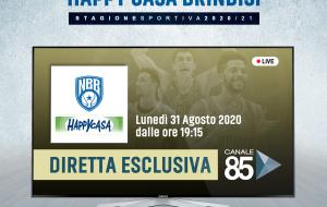 Happy Casa Brindisi: lunedì 31 la presentazione squadra in diretta su Canale 85
