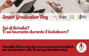 Smart graduation day: l'omaggio ai brindisini laureati durante il lockdown