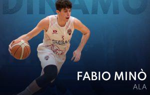 Il giovane talento Fabio Minò è il colpo della Dinamo Basket Brindisi