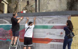 """Brindisi e le Antiche Strade: Un Banner per illustrare l'opera del Murales di """"Brindisi crocevia di rotte, percorsi e cammini"""""""