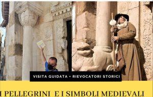 """Sabato 5 visita guidata sul tema """"I pellegrini medievali e i simboli incisi nella chiesa di San Giovanni al Sepolcro di Brindisi"""""""