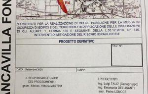 Francavilla: approvato il progetto definitivo per la mitigazione del rischio idraulico R4