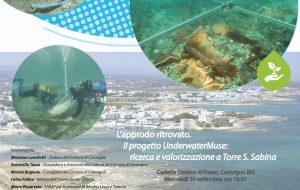 Domani si concludono le ricerche archeologiche subacquee nell'insenatura di Torre Santa Sabina