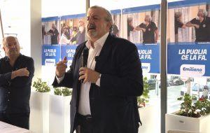 Emiliano ha incontrato i candidati della circoscrizione di Brindisi