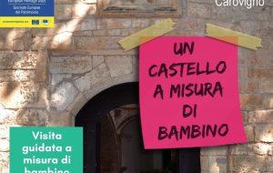 Giornate Europee del Patrimonio: visite guidate per bambini al Castello di Carovigno