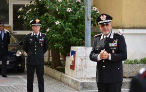 """Il Comandante della Legione Carabinieri """"Puglia"""" visita il Comando di Brindisi"""
