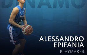 Alessandro Epifania vestirà ancora la maglia della Dinamo Brindisi