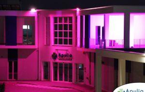 Apulia Diagnostic si illumina di rosa 🎗per il mese della prevenzione del tumore al seno