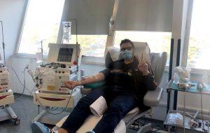 """Al Perrino nuova donazione del """"plasma dei guariti"""""""
