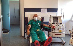 Plasma dei guariti: nuova donazione al Centro trasfusionale