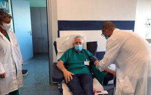 Plasma iperimmune: nuova donazione al Centro trasfusionale dell'Ospedale Perrino