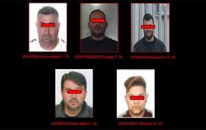 Droga, estorsioni e furti d'auto: sgominata banda di fasanesi