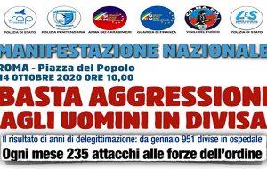 Basta aggressioni agli uomini in divisa: delegazione Sap di Brindisi a Roma per partecipare alla manifestazione nazionale