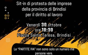 Non spegniamo la luce della speranza: sit-in di Confesercenti in Piazza Santa Teresa