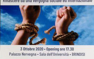 """""""La tratta degli esseri umani – rinascere da una vergogna sociale ed internazionale: se ne parla sabato a Palazzo Nervegna"""