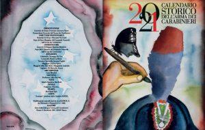 I Carabinieri presentano il Calendario Storico e l'Agenda Storica 2021