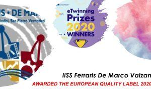Dad: Il Polo Messapia vincitore del European prize 2020 ETwinning