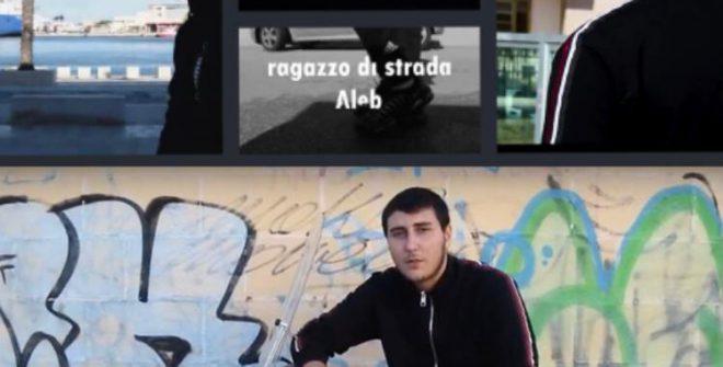 """Il giovane brindisino AleB conquista il web col suo """"Ragazzo di strada"""""""
