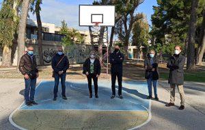 Ripristinati i canestri del Parco Cesare Braico grazie all'Associazione Vola a Canestro in collaborazione con il Comune di Brindisi