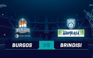Basketball Champions League: secondo tempo fatale per la Happy Casa Brindisi; Burgos vince 93-71