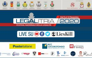 Legalitria, Festival Nazionale della Legalità a Fasano: appuntamenti  e prospettive