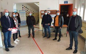 """Il sindaco Matarrelli, l'onorevole Aresta e il consigliere Vizzino alle scuole: """"Collaborazione per superare insieme l'emergenza sanitaria"""""""