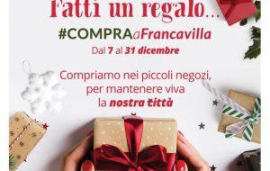 Fatti un regalo… #compra a Francavilla, torna l'iniziativa che incentiva lo shopping nei negozi cittadini