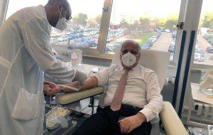 Terza donazione di sangue da parte del Questore di Brindisi: Un gesto di ordinaria filantropia
