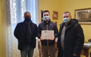 La Uiltec devolve un Contributo Straordinario alla Caritas della Parrocchia Sant'Angeli Custodi di San Pietro Vernotico