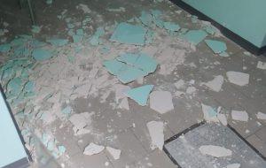 Caduta di calcinacci all'ospedale di Ceglie: Caroli chiede necessaria e urgente messa in sicurezza