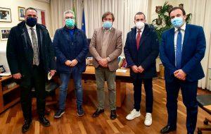 Matarrelli, Vizzino e Aresta incontrano a Roma il viceministro della Salute Pierpaolo Sileri