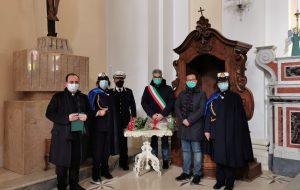Festa di San Sebastiano a Mesagne: Sindaco e vigili in Chiesa Madre per onorare la ricorrenza