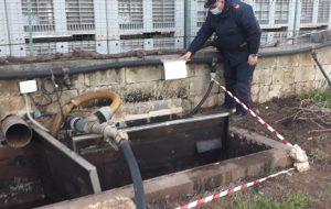 Ostuni: Sequestrate 5 vasche di raccolta delle acque di lavorazione, denunciato titolare di frantoio