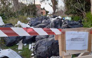 Rifiuto selvaggio a Villa Pignicedda: intervengono i Carabinieri Forestali
