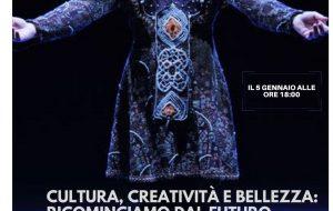 """Cultura, Creatività, e Bellezza: Ricominciamo dal Futuro: Tony Candeloro in diretta facecook dal Liceo Coreutico """"Epifanio Ferdinando"""" di Mesagne"""